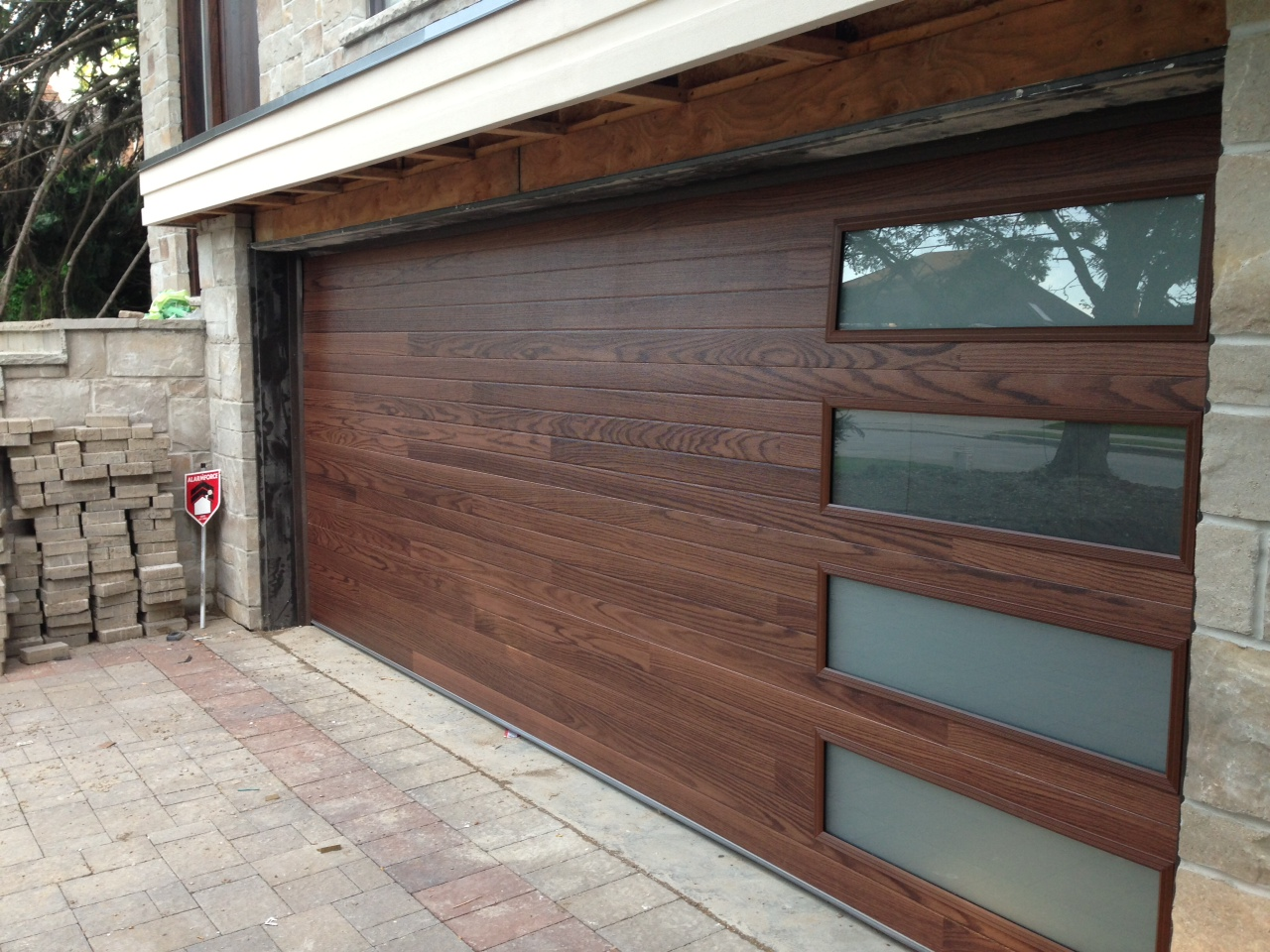 960 #66483E Garage Doors And Gates Contemporary Modern Wood Garage Door With  wallpaper Doors And Garage Doors 37151280